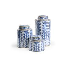Blue Fronds Canisters (s3)