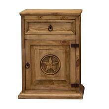 View Product - Nightstand W/Star (Left)