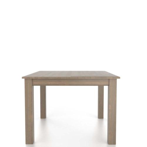 Square table with legs