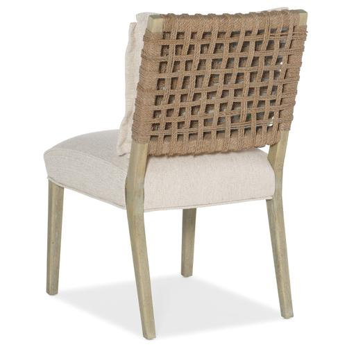 Surfrider Woven Back Side Chair-2 per ctn/price ea
