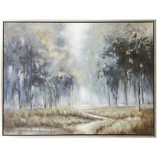 See Details - PATH TO RIGHTEOUSNESS  36in w. X 48in ht.  Framed Landscape Hand Painted Art on Canvas