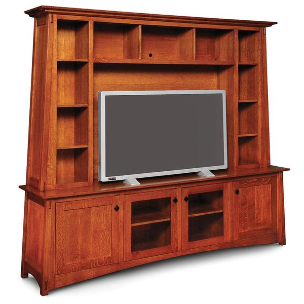 See Details - McCoy Deluxe Entertainment Center, Base Only