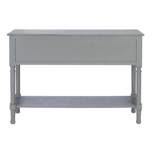 Safavieh - Haines 4 Drawer Console Table - Distressed Grey