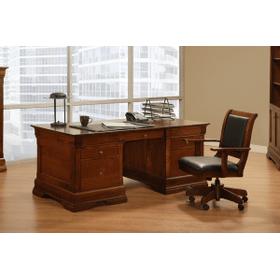 """Phillipe Executive Desk 72""""Wx30""""Hx36""""D"""