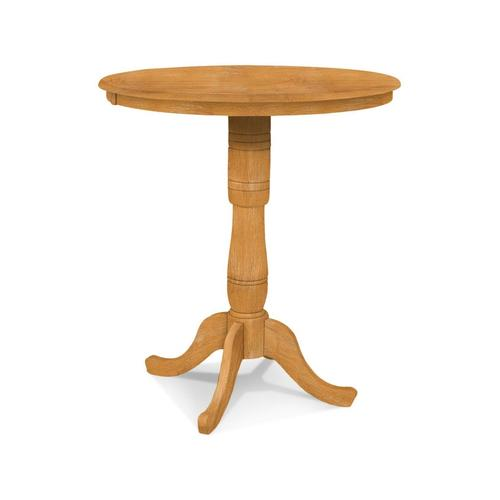 Round Table (top only) / Traditional Pedestal / Extension Piece (x2)