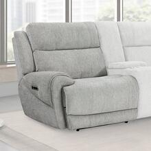 SPENCER - TIDE PEBBLE Power Left Arm Facing Recliner