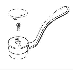 """Commercial lever handle kit, 1 handle kitchen, 4"""" Product Image"""