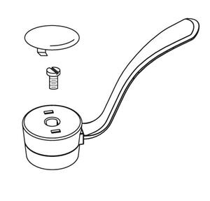 "Commercial lever handle kit, 1 handle kitchen, 4"" Product Image"