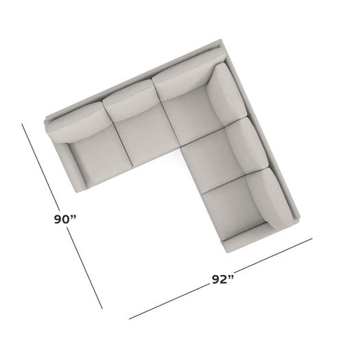 Spencer Small L-Shaped Sectional