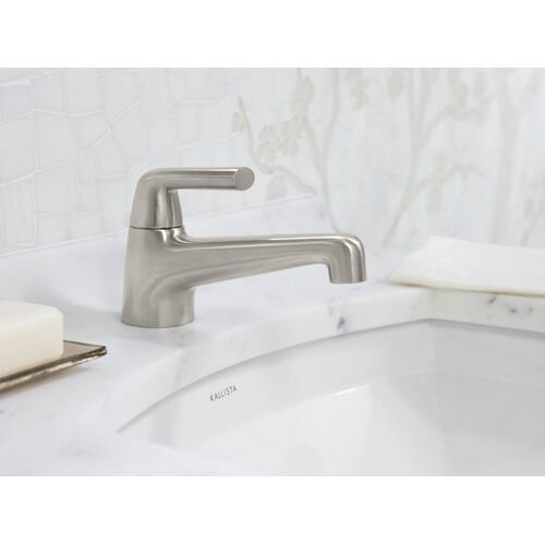 Single-Control Sink Faucet - Nickel Silver