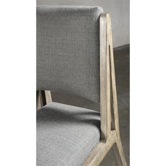 Riverside - Milton Park - Upholstered Side Chair - Primitive Silk Finish