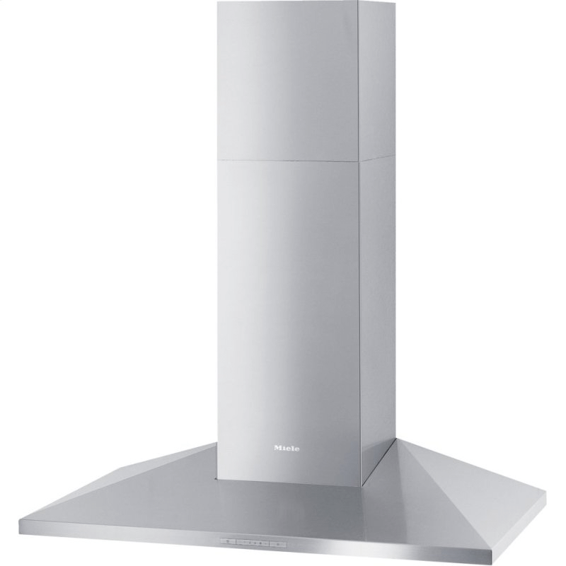 DA 399-7 Classic - Wall ventilation hood with energy-efficient LED lighting and backlit controls for easy use.