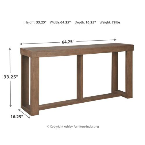 Cariton Sofa/console Table