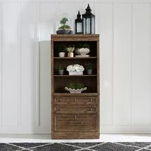 2 Piece Hutch & Cabinet Set