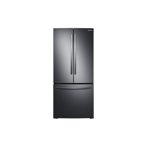 """RF220NFTASG 21.8"""" French Door Refrigerator"""