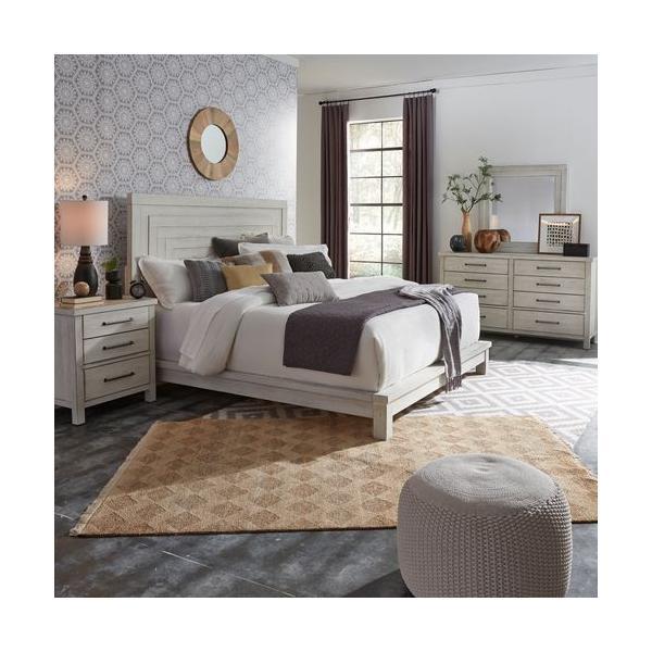 See Details - King California Platform Bed, Dresser & Mirror, Night Stand