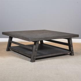 Oversized Square Cocktail Table