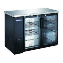 """See Details - 2 Glass Door 48"""" Back Bar Refrigerator"""