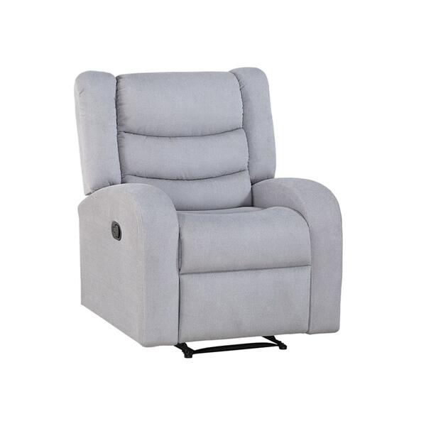 Madeline Manual Recliner, Grey