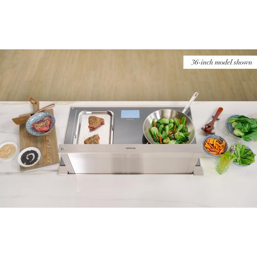 Thermador - Downdraft Ventilation 30'' Stainless Steel UCVM30XS