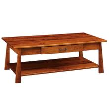 See Details - Craftsmen Large Coffee Table