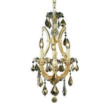 Maria Theresa Coll. Mini Chandelier Gold Finish 4Lt