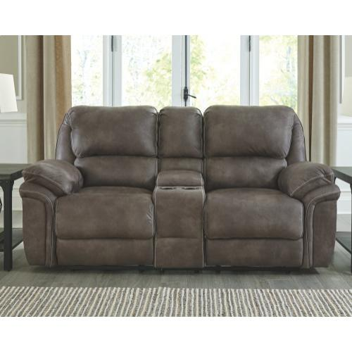 Trementon Power Reclining Loveseat With Console