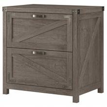 Cottage Grove 2 Drawer Lateral File Cabinet - Restored Gray