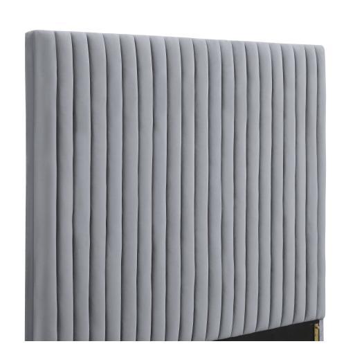 Tov Furniture - Arabelle Grey Bed in King