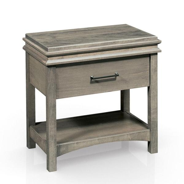 See Details - Montgomery Nightstand Table, Extra Wide, Standard - 23 'w x 19'd x 29 'h