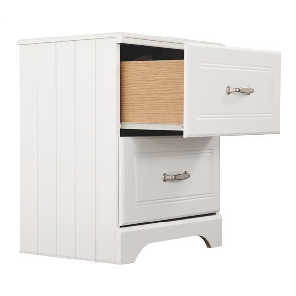 Twin Over Twin Bunk Bed With Nightstand