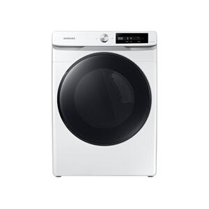 SAMSUNG7.5 cu. ft. Smart Dial Gas Dryer with Super Speed Dry in White