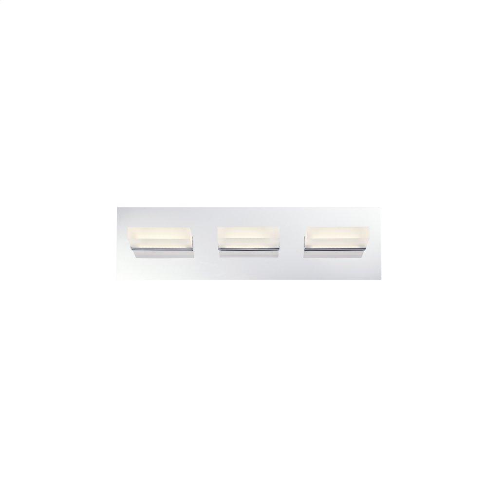 See Details - 3 LIGHT LED BATHBAR - Chrome