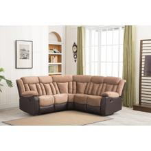8007 Two-Tone Sectional Sofa