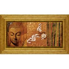Buddha Panel I By Keith Mallet