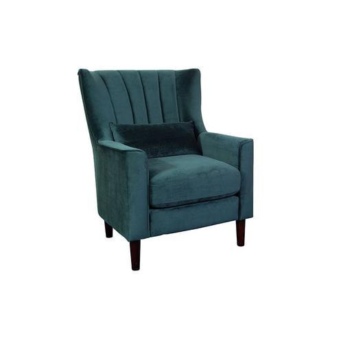 Kate Dark Green Accent Chair, AC931