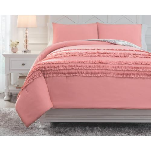 Signature Design By Ashley - Avaleigh Full Comforter Set
