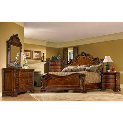 Old World Bedside Chest