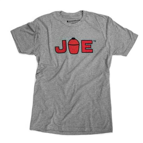 JOE Logo T-Shirt - Grey - Large