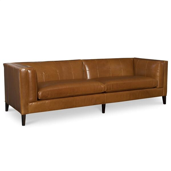 Leather Long Sofa