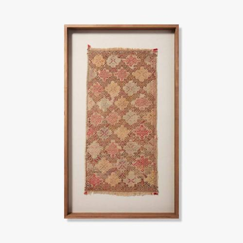 0351760019 Vintage Turkish Rug Wall Art