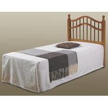Twin Honey Double Rail Headboard