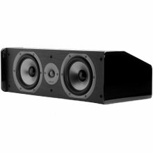 """TSi Series Center Channel Speaker With Dual 6.5"""" Drivers in Black"""