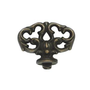 """Furniture Hardware Mock Key 1.50"""" x 1.09"""" SQ. in Windover Antique Product Image"""