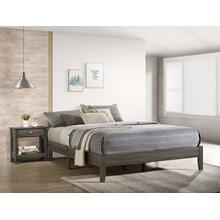 Skyler Q. Platform Bed One Box Grey