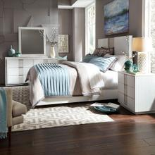 View Product - Queen Panel Bed, Dresser & Mirror, Night Stand