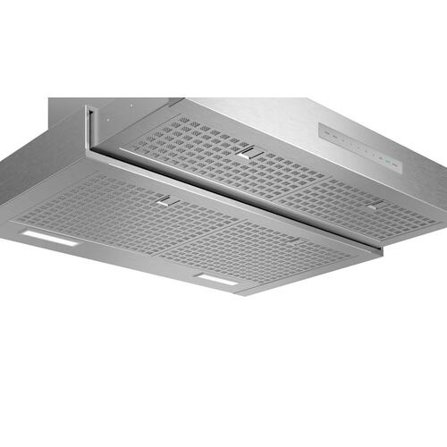 Drawer Chimney Wall Hood 36'' Stainless Steel HDDB36WS