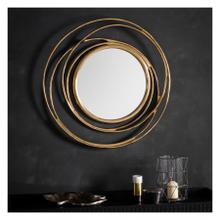 GA Allende Mirror Satin Gold
