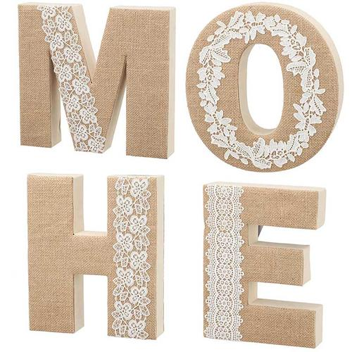 S/4 Home Lettering Wall Decor