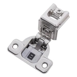 Soft Close 1-3/8 In. Overlay Face Frame Polished Nickel Hinge Product Image